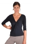 Bamboo Dreams® 3/4 Sleeve Twist Top